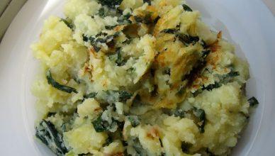 Colcannon Potatoes eine irische Kartoffelleckerei nach dem Rezept von Jannis und Paul Rafferty