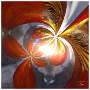 """""""Goldfasan Transformation 1"""" - Bild von Frauke Hohberger"""