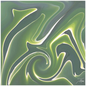 """""""Green 2"""" - Bild von Frauke Hohberger"""