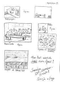 Teil 3 der Bildergeschichte aus dem vamos Urlaub im Hotel Likithos von Ingo Siegner.