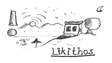 Titel der Bildergeschichte aus dem vamos Urlaub im Hotel Likithos von Ingo Siegner.