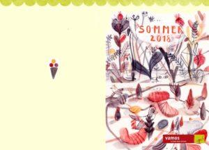Erhielt eine lobende Erwähnung: Illustration von Simone Seidel (HAW Hamburg).