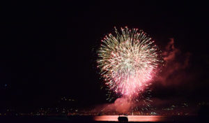 Feuerwerk zum Ferragosto