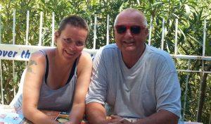 Imke und Wolfgang Törmer von der Tauchschule Sicilia Divers am Hotel Kalura in Nordsizilien