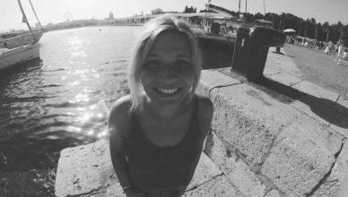 Kim Kirchner hat als Kinderbetreuerin für vamos Eltern-Kind-Reisen gearbeitet
