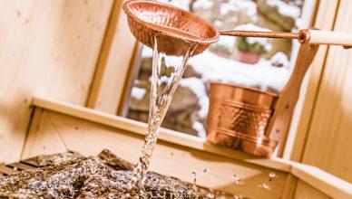 vamos Wellness-Glossar: Finnische Sauna