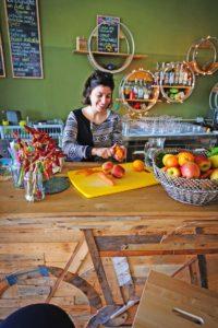 In der Nähe von Gallipoli betreibt Salento Bici Tours ein Bike-Café