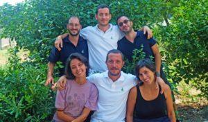 Das Team von Salento Bici Tours