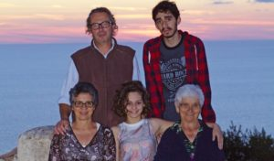 Familie Colace, die Gastgeber des Agriturismo Pirapora in Kalabrien