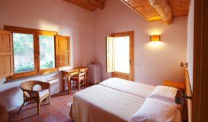 Ein Zimmer im Agriturismo Pirapora in Kalabrien