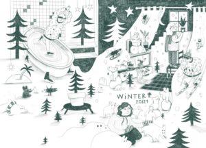 Lobende Erwähnung beim vamos Illustratoren-Wettbewerb 2019: Illustration von Marie Luisa Doerfler, HAW Hamburg