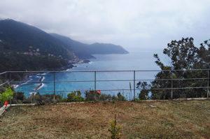 Ausblick vom Sesta Terra Natural Resort in Framura.