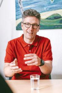 Stephan Krug, Geschäftsführer von vamos Eltern-Kind-Reisen