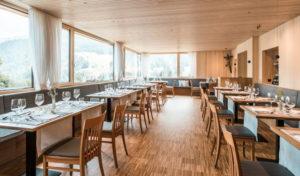 Spiesesaal des Naturhotel Chesa Valisa