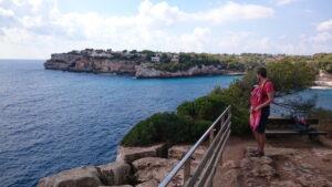 Mallorca, Cala Santanyí, Mallorca mit Kind